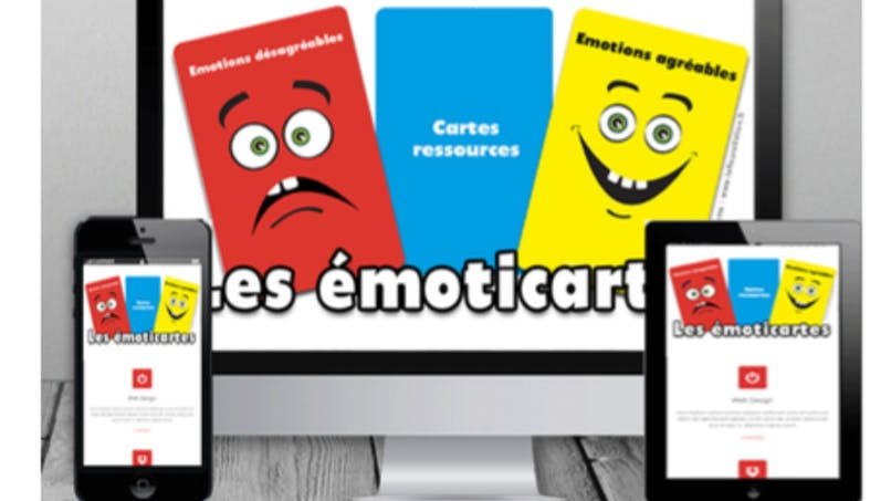 Emoticartes, le jeu qui aide les enfants à développer leur intelligence émotionnelle