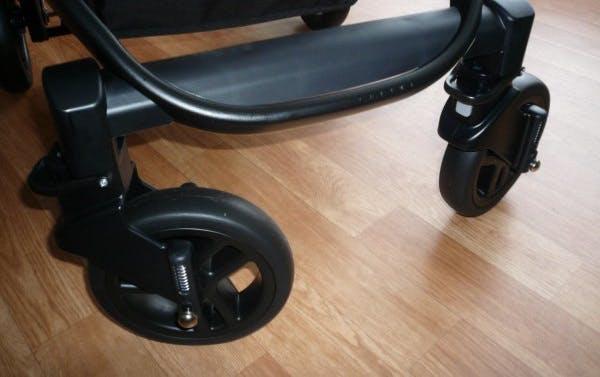 Poussette duo Travel System Evo de Graco - roues pivotantes