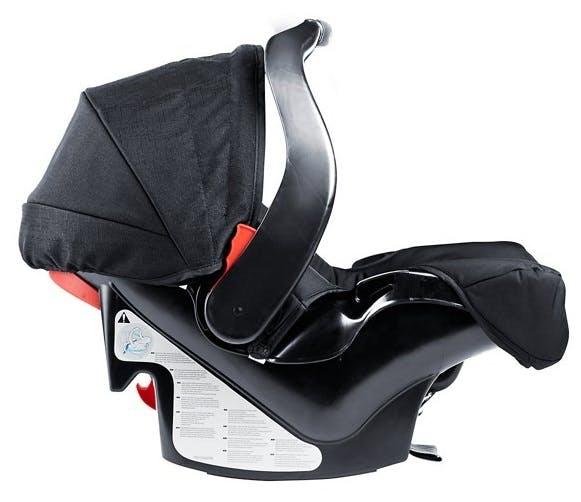 Poussette duo Travel System Evo de Graco - base voiture cosy siège auto coque Junior baby