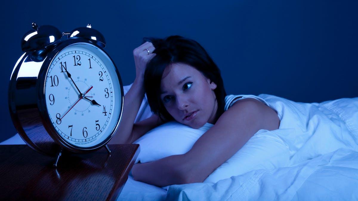 femme souffrant d'insomnie
