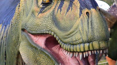 dinosaure au parc de Thoiry