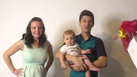 L'incroyable idée d'un futur papa pour annoncer le sexe de son bébé (VIDEO)