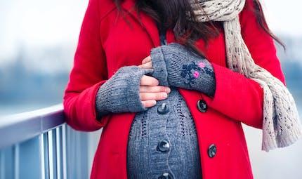 Enceinte l'hiver, gardons la forme !