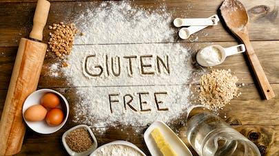 plusieurs aliments sans gluten