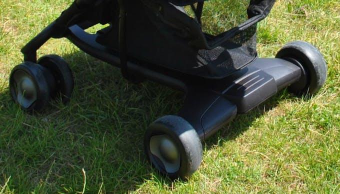 Poussette Pepp de Nuna - essieu arrière frein