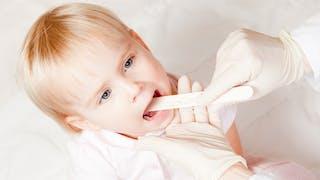 Oreillons : consultation médicale enfant