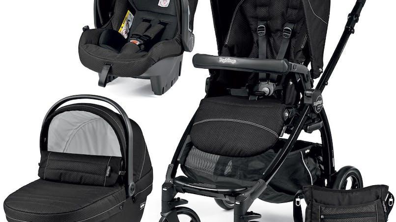 Trio Book Plus Sportivo Modular - poussette nacelle siège auto coque cosy