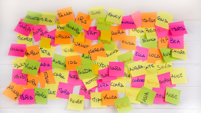 Les prénoms de la semaine : Kylian, Jean-Luc, Charline