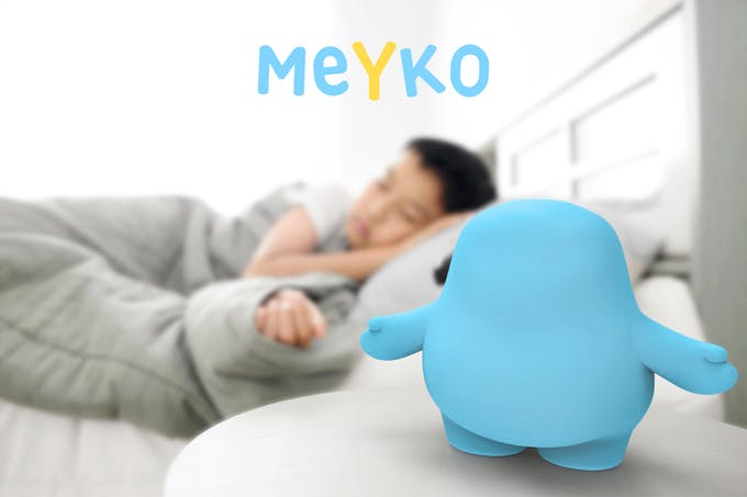Meyko et enfant qui dort