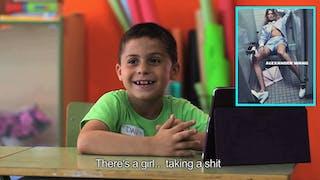 Comment les enfants perçoivent-ils les messages des photos de mode ?