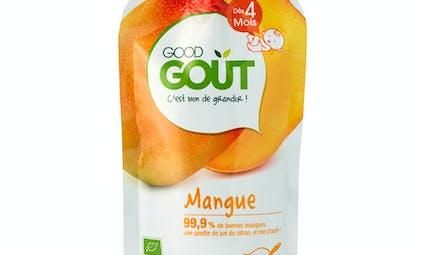 La gourde mangue de GOOD GOÛT