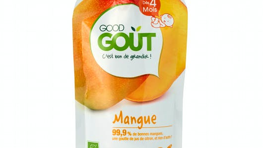 La gourde mangue de GOOD GOÛT