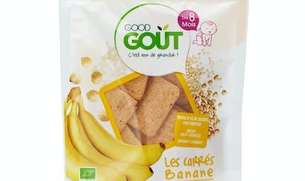 Les carrés Banane de GOOD GOÛT