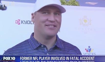Une star de la NFL tue accidentellement sa fille de 3 ans