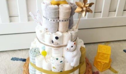 Le Diaper Cake, le cadeau de naissance mode qui arrive des États-Unis