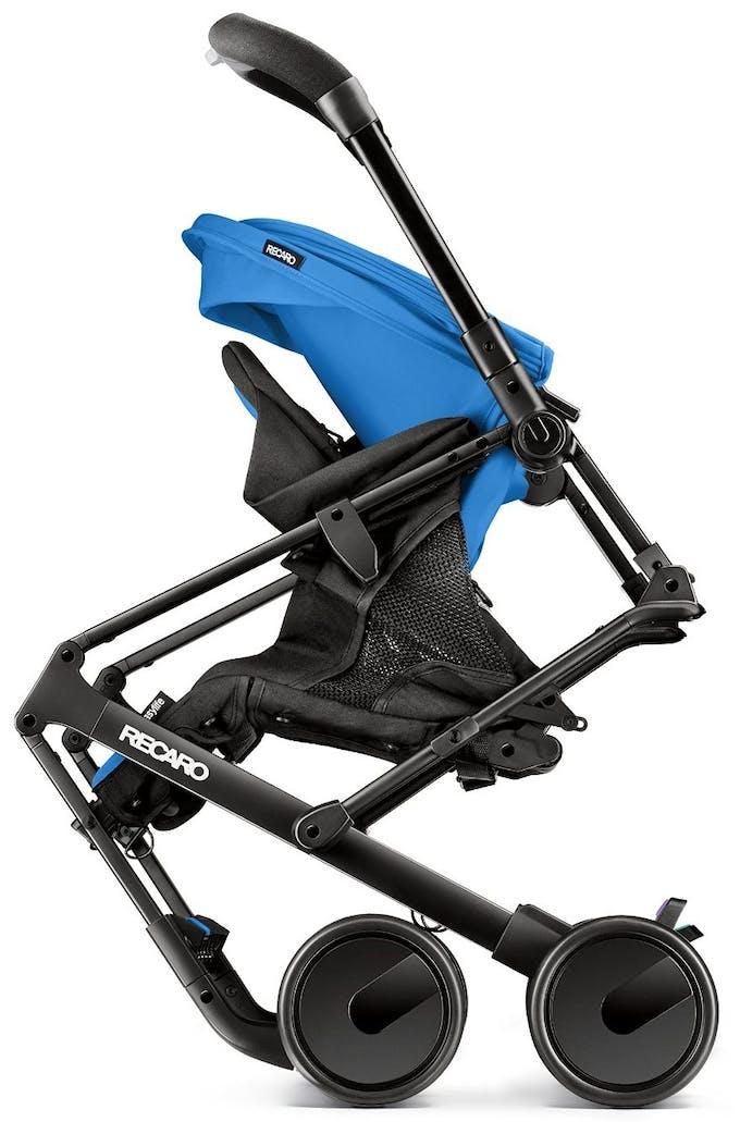 Poussette Duo Easylife de Recaro & siège auto 0+ Privia - bleu