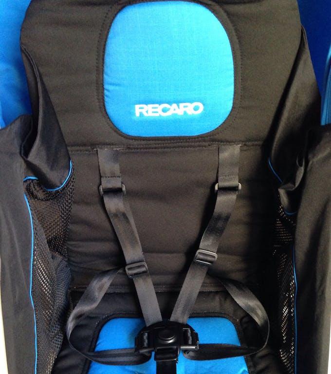 Poussette Duo Easylife de Recaro & siège auto 0+ Privia - assise harnais appui-tête