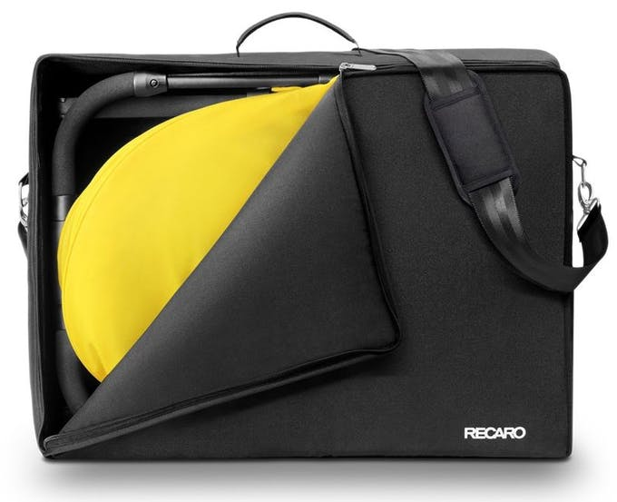 Poussette Duo Easylife de Recaro & siège auto 0+ Privia - sac de transport