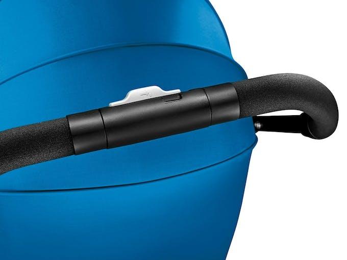 Poussette Duo Easylife de Recaro & siège auto 0+ Privia - bleu guidon