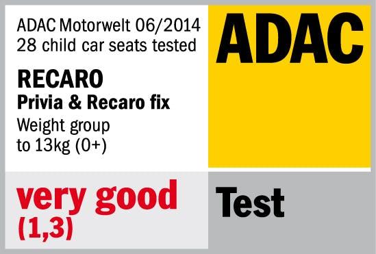 Siège auto 0+ Privia - ADAC très bien