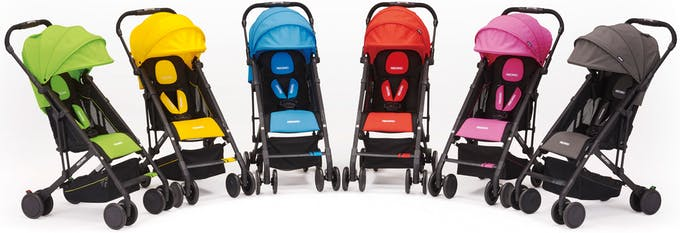 Poussette Duo Easylife de Recaro & siège auto 0+ Privia - couleurs