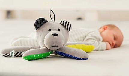 Whisbear, l'ourson qui souffle pour accompagner le sommeil et l'éveil de bébé