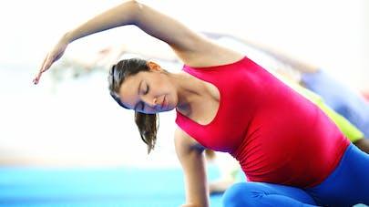femme enceinte pilates