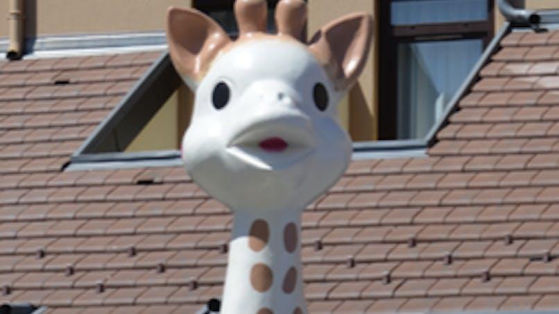 Sophie la Girafe en tournée en France