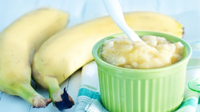 nature morte compote banane
