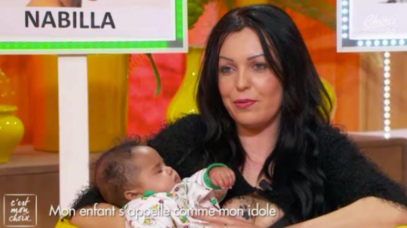 Fan de Nabilla, elle choisit ce prénom pour sa fille