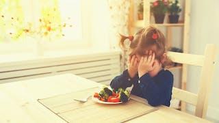 petite fille refuse manger
