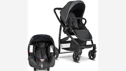 Duo Evo de Graco et siège-coque Junior Baby 0+