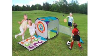 Un cube multisports pour enfants idéal pour le jardin