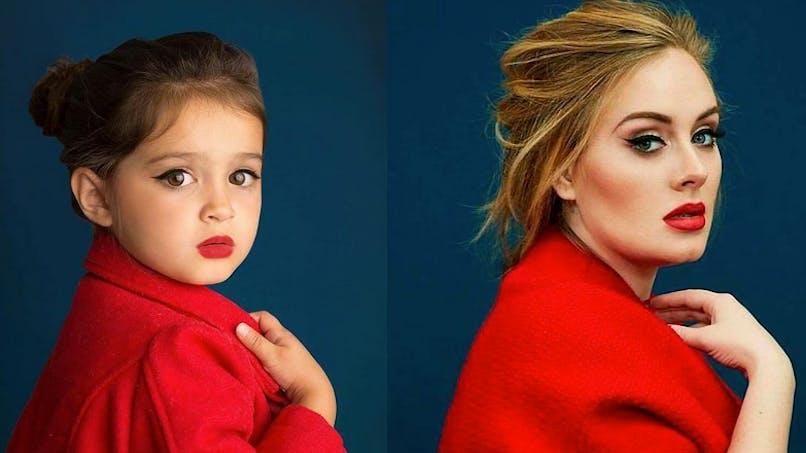 Une petite fille s'habille comme les plus grandes stars pour sauver sa grand-mère (PHOTOS)