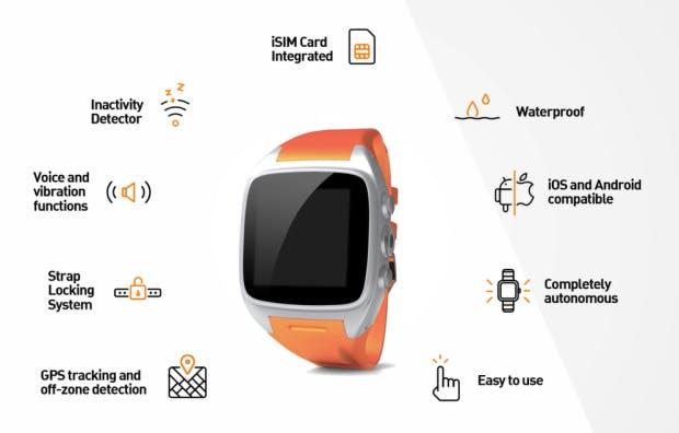 WatcHelp Connected Watch