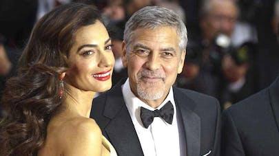 George Clooney et Amal Clooney parents