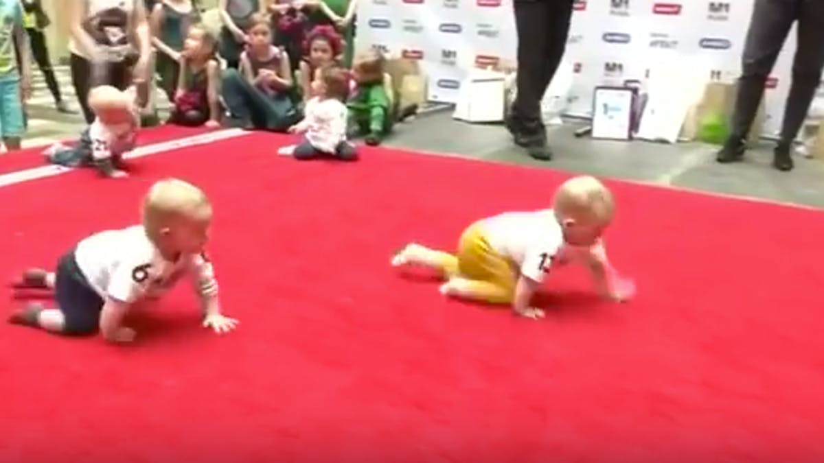 course de bébés