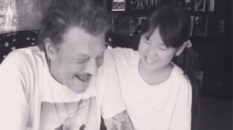 Johnny Hallyday : l'adorable vidéo avec sa fille Joy