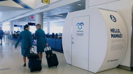 Mamava : des cabines pour allaiter dans les lieux publics