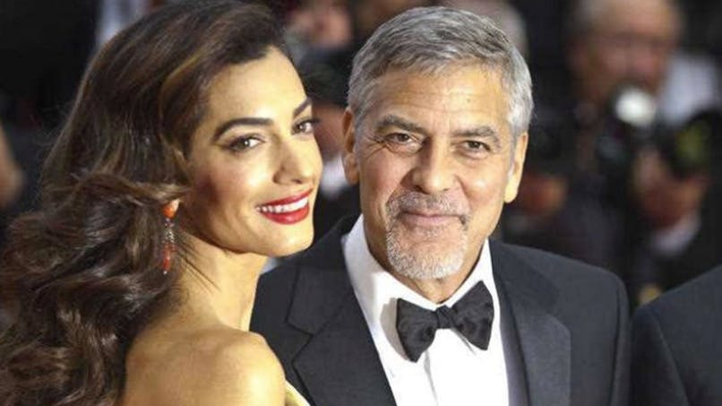 Ella et Alexander Clooney ont déjà leurs gardes du corps!