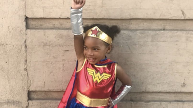 Le film Wonder Woman inspire les petites filles et les petits garçons