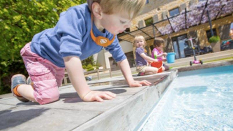No Stress: la balise qui aide à surveiller les enfants au bord de la piscine