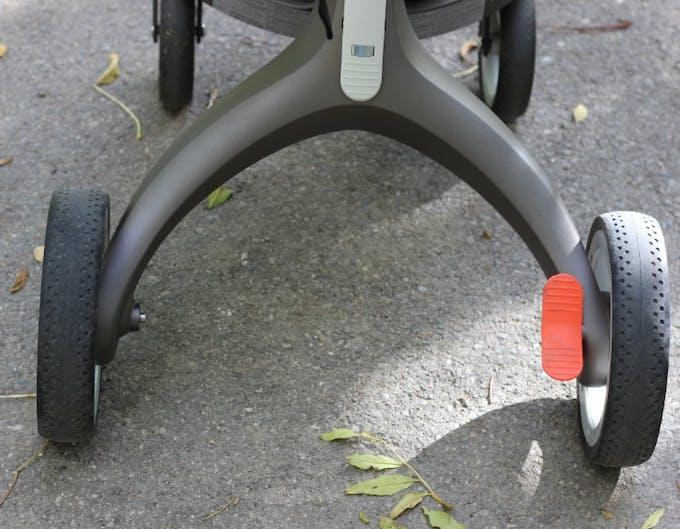Poussette Xplory de Stokke - pédale de frein