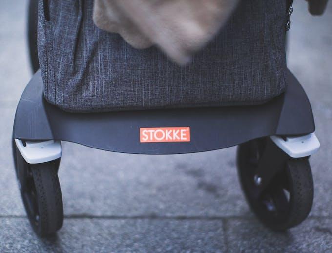 Poussette Xplory de Stokke - roues avant