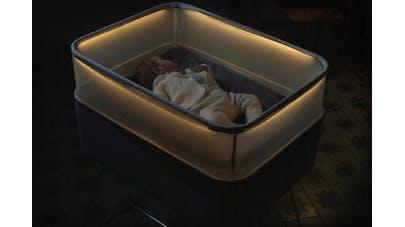 berceau Ford Max Moto Dreams avec bébé