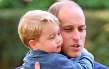 Prince George et son père