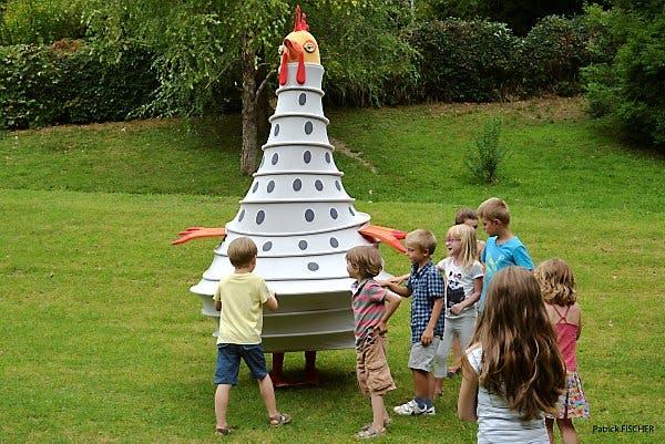 jeux d'enfants en plein air