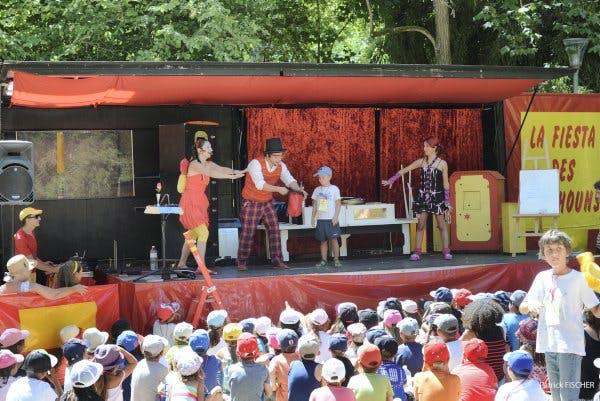 scène de théâtre pour enfants