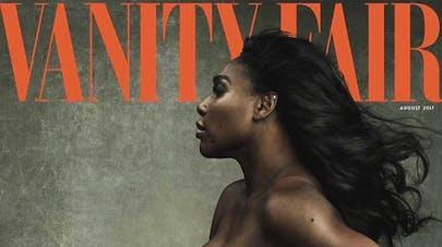 Serena Williams pose nue et enceinte