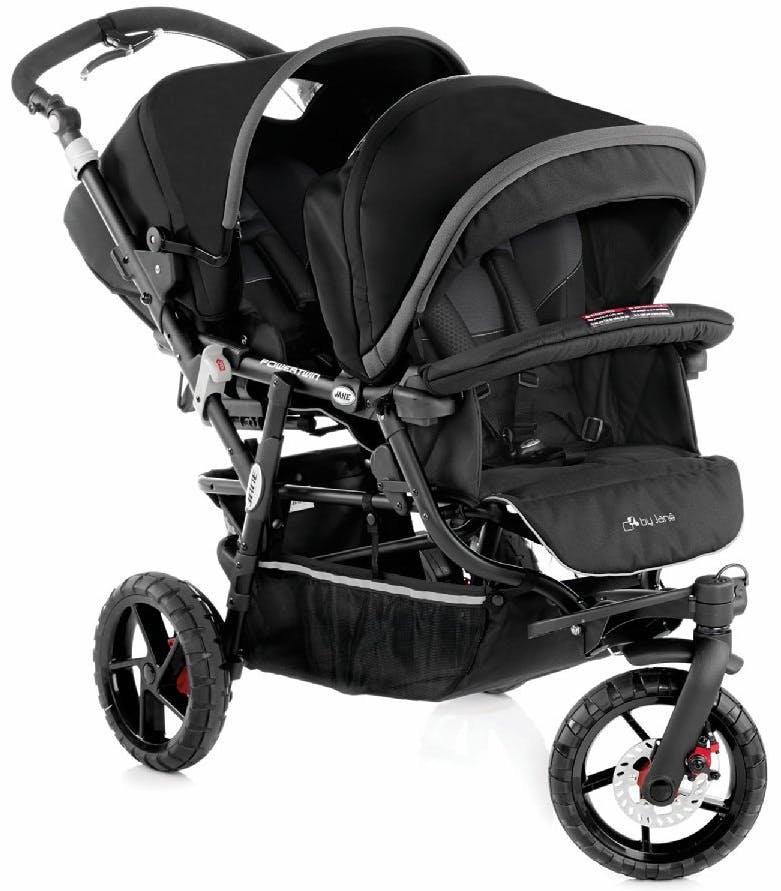 Poussette double Powertwin Pro de Jané |parents.fr | PARENTS.fr